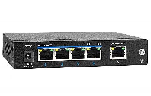 Switch PoE 4-port + 1 RJ45 PX-SW4-P60-U1