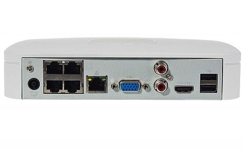 Rejestrator IP Dahua 1x HDD DHI-NVR4104-P-4KS2/L
