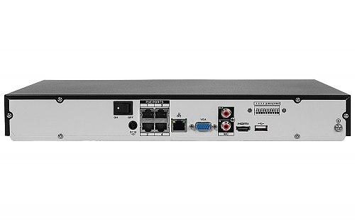 Rejestrator IP Dahua 2x HDD, 4x PoE DHI-NVR4204-P-4KS2/L