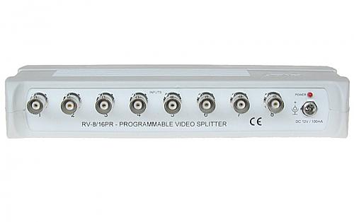 Rozgałęźnik wideo RV-8/16PR