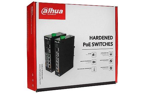 Opakowanie switcha PoE DH PFS3211 8GT 120