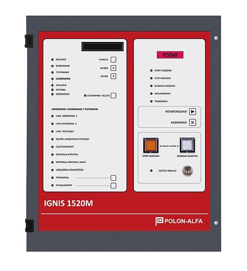 Centrala automatycznego gaszenia IGNIS 1520M