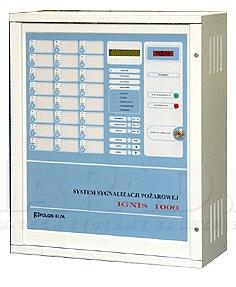 Centrala sygnalizacji pożarowej IGNIS 1240