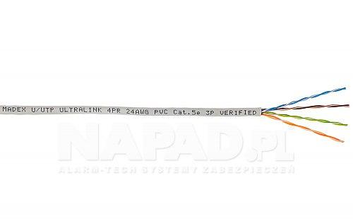 Przewód sieciowy UUTP cat 5e Madex Ultralink