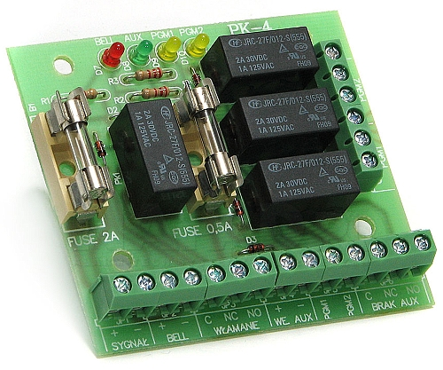 Moduł przekaźnikowy PK4 AWZ515