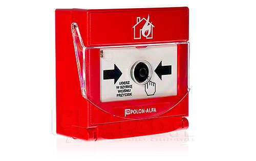Adresowalny, zewnętrzny ostrzegacz pożarowy ROP-4001MH