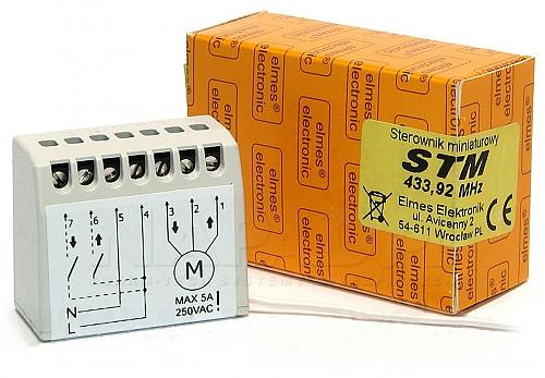 STM - Miniaturowy sterownik do rolet