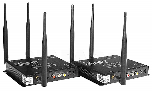 Cyfrowy zestaw nadawczo-odbiorczy CAMsat 5,2 GHz CDS5021