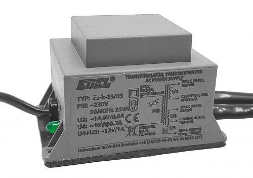 TR/B2303 / ZS-K-25/03 - Zasilacz domofonowy
