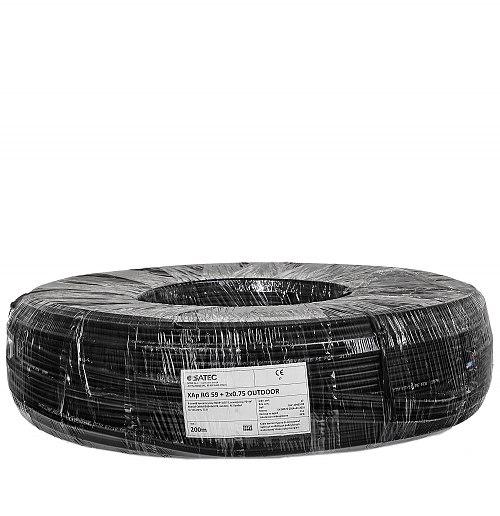 Kabel XYAP 75 2x 0.75