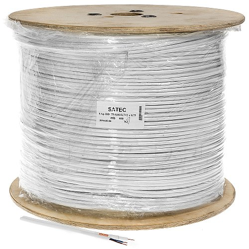 Kabel koncentryczny YAP + 2x 0.75