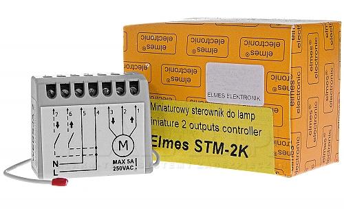 STM2K - Miniaturowy sterownik do lamp