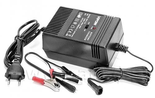 Ładowarka do akumulatorów żelowych 6V-12V 1800 mA