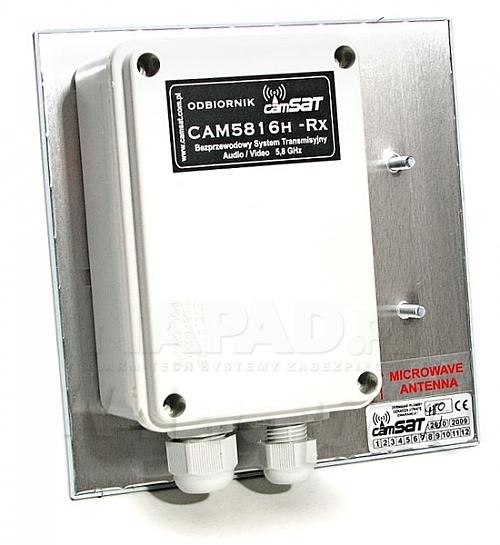 Odbiornik hermetyczny systemu CAMsat 5,8GHz CAM5816h-Rx