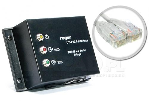 Interfejs RS232/RS485/RS422-Ethernet UT-4