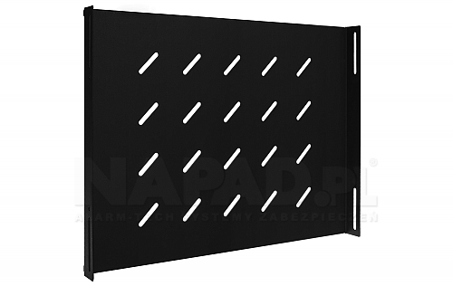 Półka Rack systems PZ600 czarna