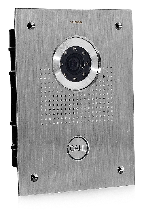 S551 - Jednoabonentowa stacja bramowa z kamerą
