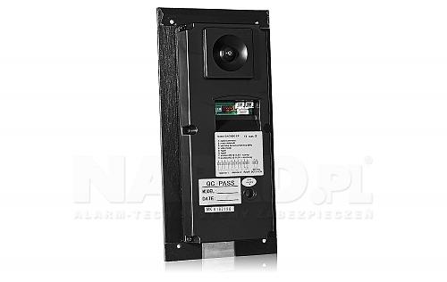 S561D - Jednoabonentowa stacja bramowa z kamerą i zamkiem szyfrowym