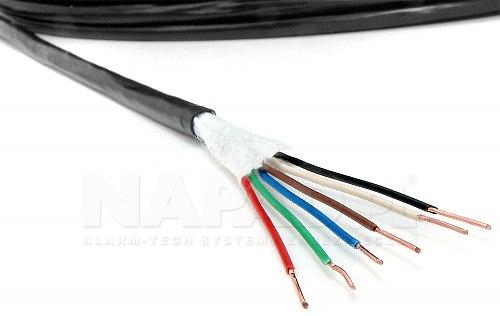 Przewód alamrowy XSTDY 6x 0.50mm