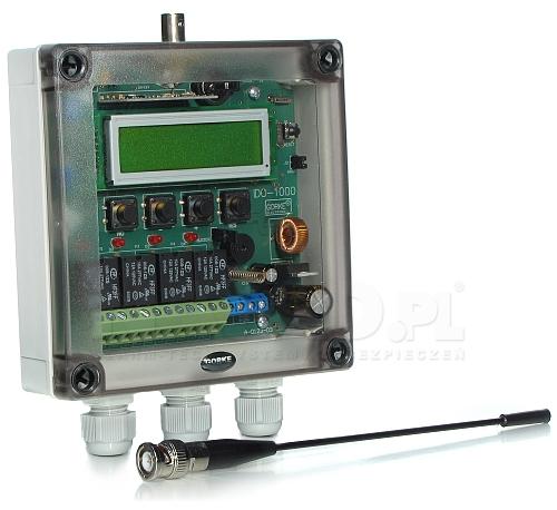Odbiornik identyfikacyjny 4-kanałowy IDO-1000
