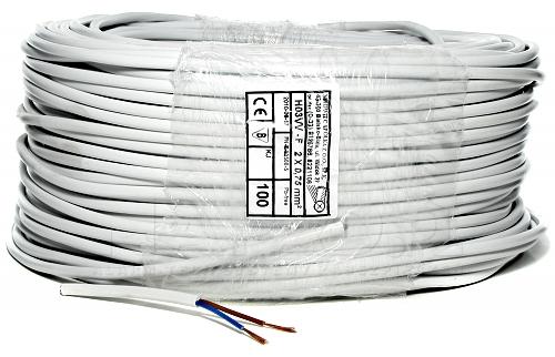 Przewód OMY 2x0.75 mm