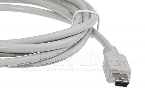 Kabel do programowania urządzeń z slotem miniUSB