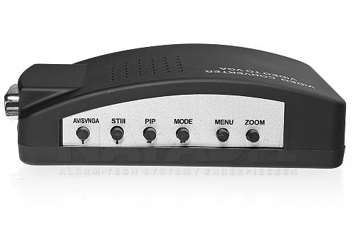 Konwerter SVHS/BNC na VGA