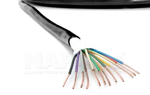 Kabel alarmówka XSTDY 12 x 0,50 mm