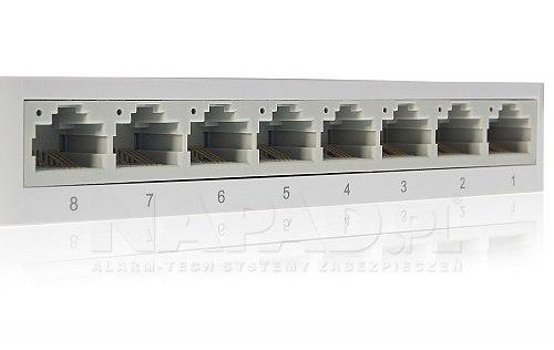 Swistch 8x RJ-45 (10/100Mbps) TL-SF1008D