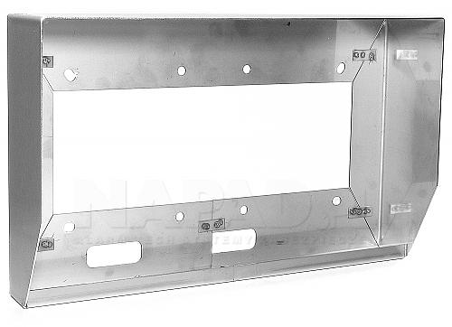 DAX-1-2H - Osłona natynkowa do paneli
