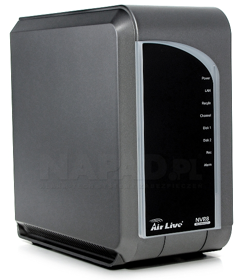 Sieciowy rejestrator cyfrowy NVR8