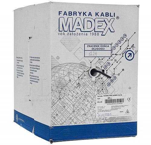 Skrętka UTP Madex 5e ultraviolet zewnętrzny
