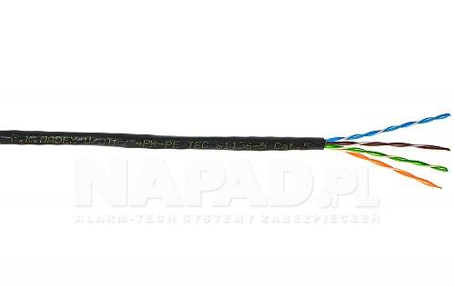 Przewód sieciowy UUTP cat 5e Madex UV