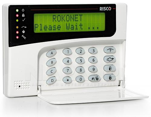 Klawiatura LCD RP128 ROKONET