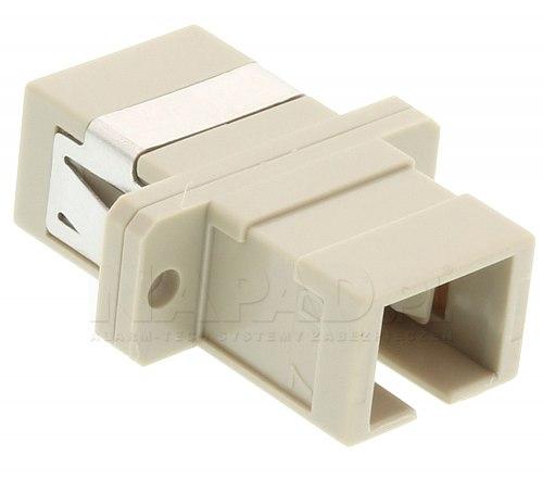 Adapter światłowodowy MM SC simplex