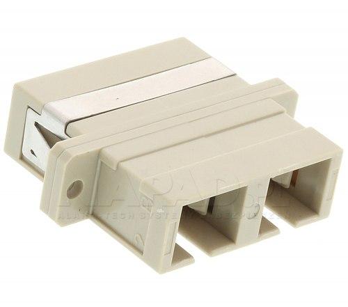 Adapter światłowodowy MM SC duplex