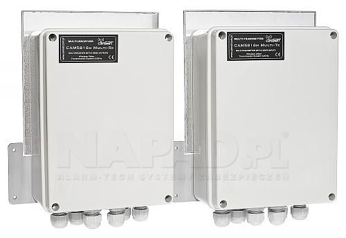 Hermetyczny zestaw CAM5816h Multi CAMsat IP66