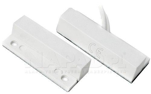 Czujnik kontaktronowy MC21C biały