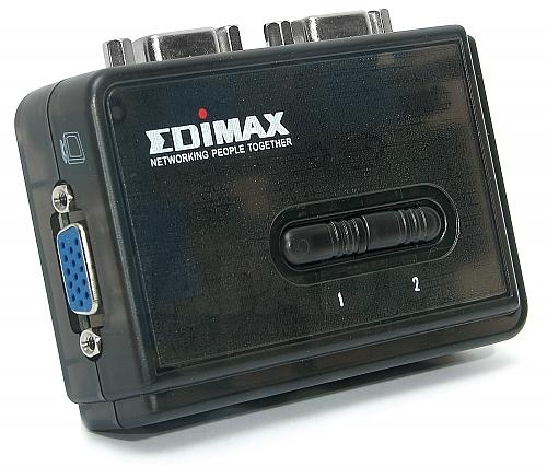 Przełącznik KVM Edimax EK-UAK2 USB 2-portowy