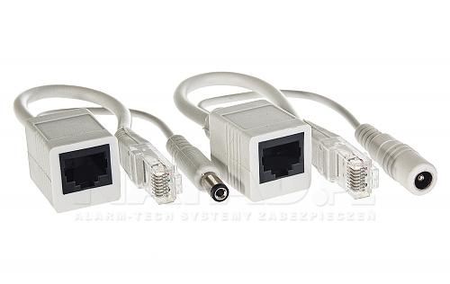 Adapter POE z przyłączami