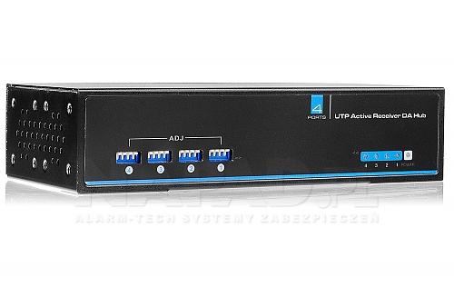 4-kanałowy aktywny odbiornik sygnału wizyjnego AT-UTP104AR
