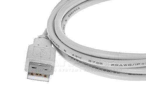 Przewód USB wtyk-gniazdo 180 cm