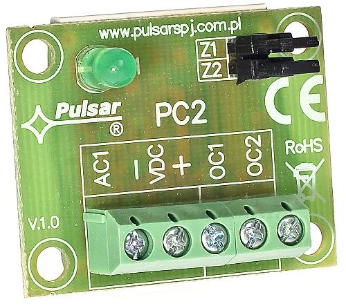 Moduł przekaźnika czasowego PC2 AWZ518