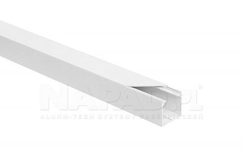Listwa elektroinstalacyjna LS 40x40 biała
