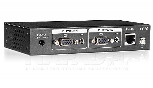 Aktywny odbiornik VGA Video i Audio AT-UTP801AR