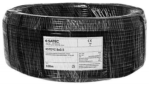 Kabel alarmowy XSTDY 8x 0.5mm