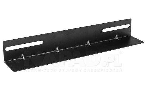 Szyna montażowa do szaf Rack 19'' 450mm (27,5cm)