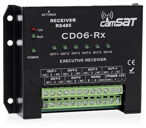 Odbiornik wykonawczy CD06-Rx
