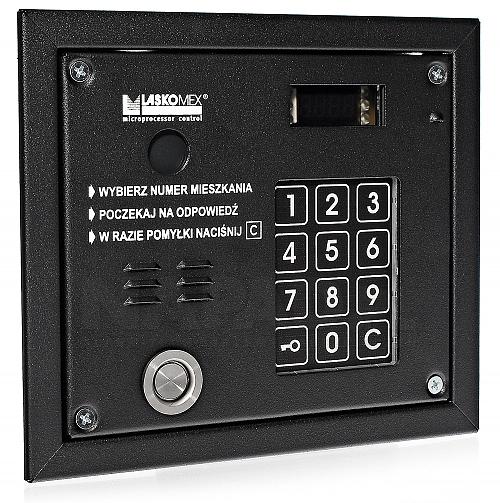 Panel domofonowy Laskomex CP3103TP czarny