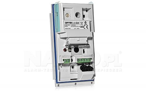 Zewnętrzny czujnik podczerwieni LX-802N Optex